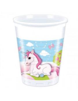 Bicchieri Unicorno Castello...