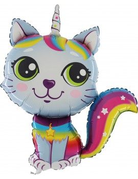 Palloncino Rainbow Cat Boy...