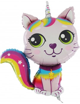 Palloncino Rainbow Cat Girl...
