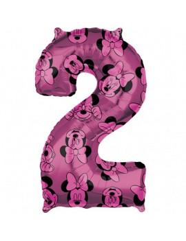 Palloncino Numero 2 Minnie...
