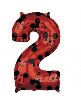 Palloncino Numero 2 Mickey...