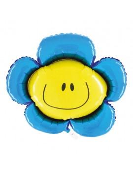 Palloncino Fiore Blu
