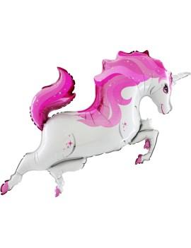 Palloncino Unicorno Rosa