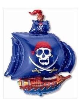 Palloncino Nave dei Pirati Blu