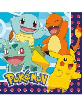 Tovaglioli Pokemon 33x33 cm...
