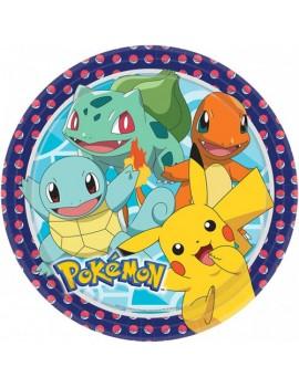 Piattini di Carta Pokemon...