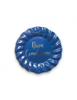 Piatti Buon Compleanno Blue...