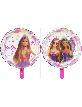 Palloncino Tondo Barbie