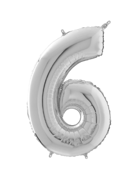 Palloncino Medio Numero 6...