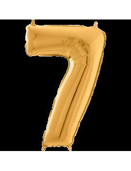 Palloncino Medio Numero 7...