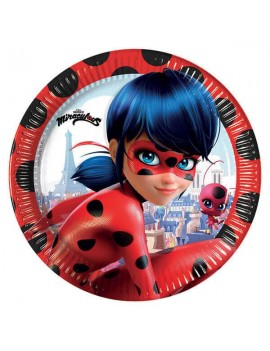 Piattini Miraculous Ladybug...