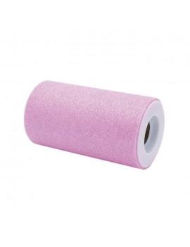 Tulle Glitter Rosa 12,5 x...