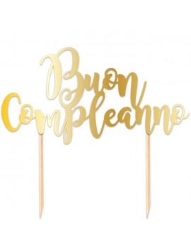 Cake Topper Buon Compleanno...