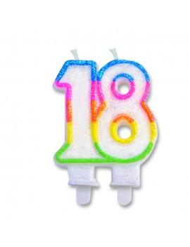 Candelina Numero 18 (Sweet)