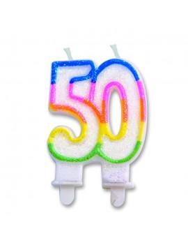 Candelina Numero 50 (Sweet)