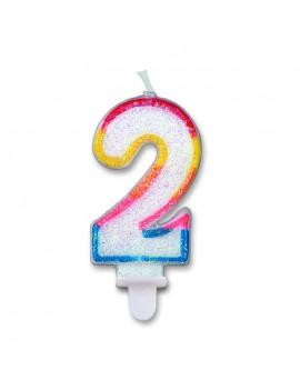 Candelina Numero 2 (Sweet)