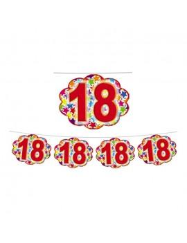 Festone Nuvoletta Numero 18