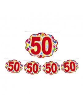 Festone Nuvoletta Numero 50