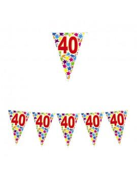 Festone Bandierina Numero 40