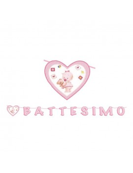 Festone Maxi Battesimo  (6 mt)