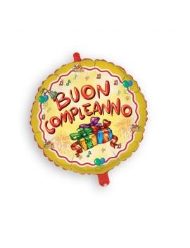 Palloncino Tondo Buon Compleanno