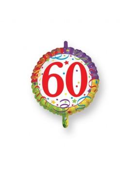 Palloncino Tondo Numero 60