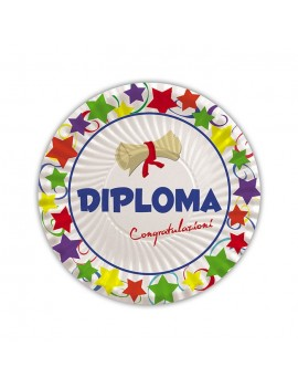 Piatti Ø 18 cm per Diploma (10 pz)