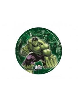 Piatti Avengers da 20 cm (8 pz)