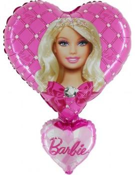 Palloncino Cuore Barbie