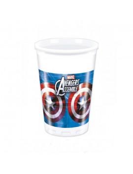 Bicchieri Avengers da 200 ml (8 pz)