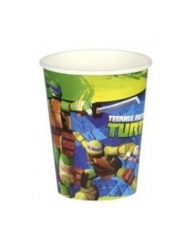 Bicchieri Tartarughe Ninja 266ml (8 pz)
