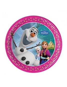 Piatti Frozen da 20 cm (8 pz)