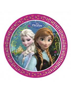 Piatti Grandi Frozen da 23 cm (8 pz)