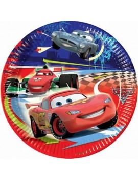 Piatti Cars da 20 cm (10 pz)