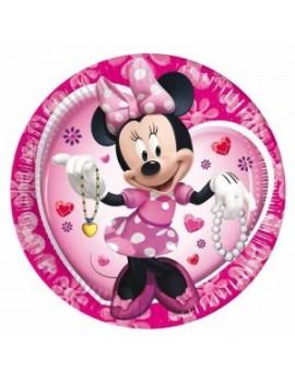 Piatti Minnie Mouse da 23 cm (10 pz)