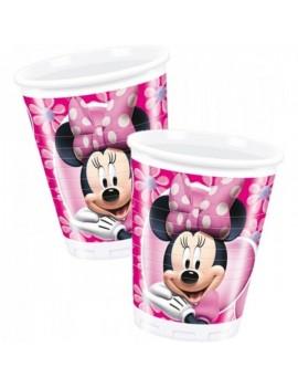Bicchieri Minnie Mouse da 200 ml (10 pz)