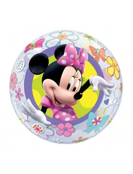 Palloncino Minnie Mouse BowTique Tondo