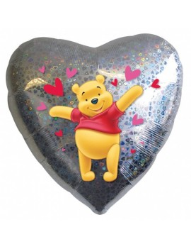 Palloncino Winnie The Pooh Cuore