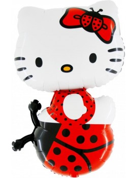 Palloncino Hello Kitty Lady Bug