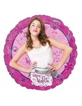 Palloncino Tondo Violetta Disney