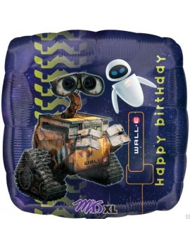 Palloncino Wall E Happy Birthday