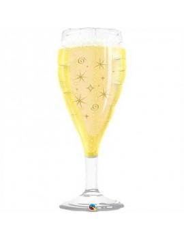 Palloncino Bicchiere Champagne Gigante