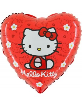 Palloncino Cuore Hello Kitty