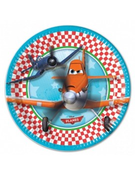 Piatti Disney Planes da 23 cm (8 pz)