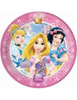 Piatti Principesse Disney da 20 cm (8 pz)