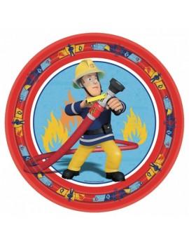 Piatti Sam il Pompiere da 23 cm (8 pz)
