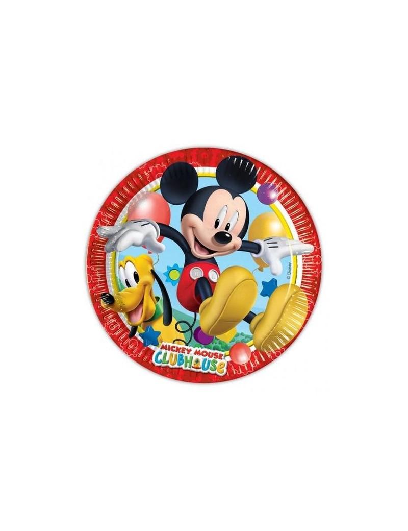 Piatti Mickey Mouse da 23 cm (8 pz)