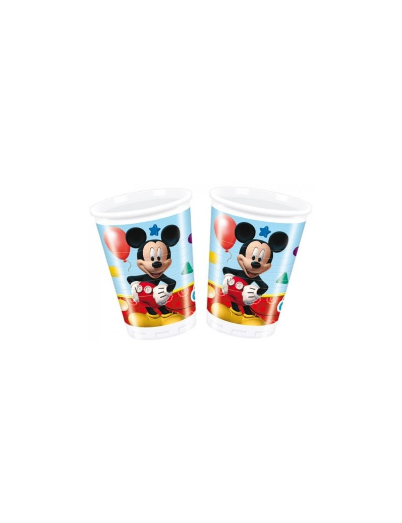 Bicchieri Mickey Mouse da 200 ml (8 pz)