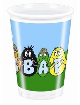 Bicchieri Barbapapa da 230 ml (10 pz)