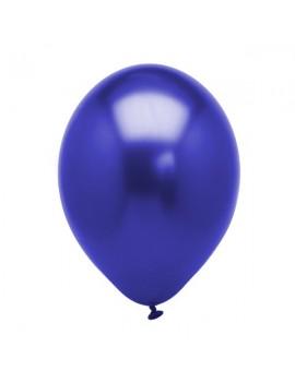 Palloncini in Lattice Blu Metallizzato 30 cm da 50 pz